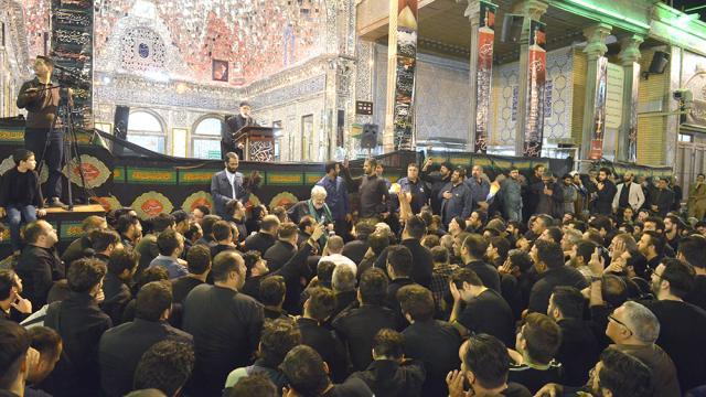 تشرف وزیر کشور عراق و سفیر عراق و هیئت همراه به آستان مقدس - 96.5.22 - عکاس رستمی