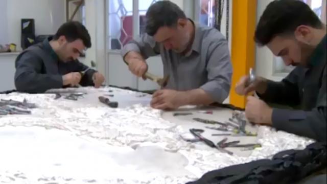 کلیپ گزارشی از ساخت ضریح جدید حضرت عبدالعظیم(ع) منتشر شده از باشگاه خبرنگاران جوان