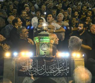 شب اول مسلمیه 1438قمری - عکاس : رستمی