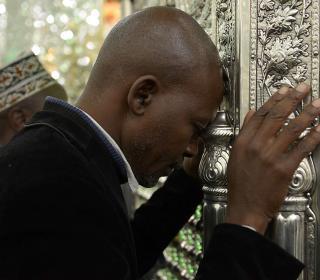 دیدار جمعی از مدیران و مفاخر علمی کشورهای آفریقایی با آیت الله محمدی ری شهری / عکس: مصطفی صادقی