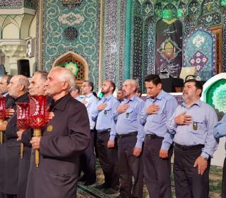 مراسم روز وفات حضرت عبدالعظیم علیه السّلام 96/4/19- عکاس: رستمی