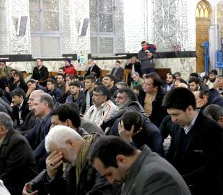 آئین غباروبی مضجع شریف حضرت عبدالعظیم (ع) ٩٦/١١/٧