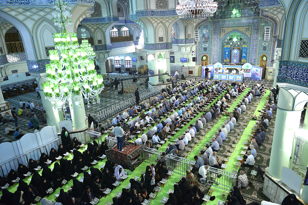 Time schedule of various religious events which will be held in Holy Shrine during the blessed month of Ramadan.