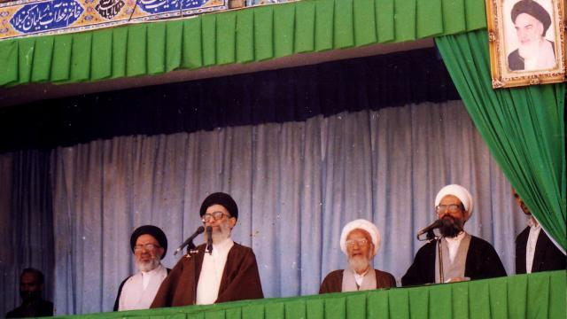 Revolution Supreme Leader's Speech among Rey People on October 27, 1994+Video
