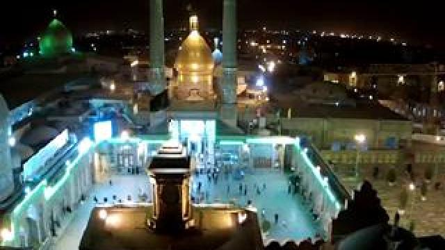 Peace be on you, who with your pilgrimage , we hope to have a oblation of men of martyrs (imam hossien PBUH)