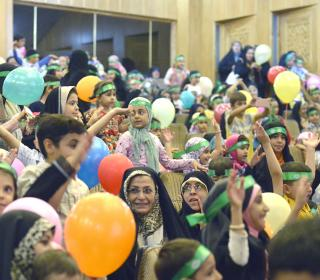 مراسم جشن کودکانه غدیر خم در تالار شیخ صدوق (ره) - عکاس : صادقی 17-6-96