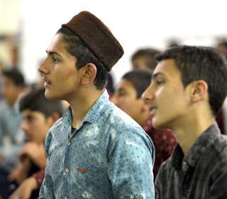 جشن تکلیف 300 نفر از دانش آموزان پسر عشایر استانهای کشور