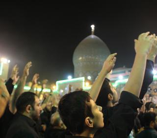 مراسم مسلمیه شب سوم حرم حضرت عبدالعظیم حسنی(ع)