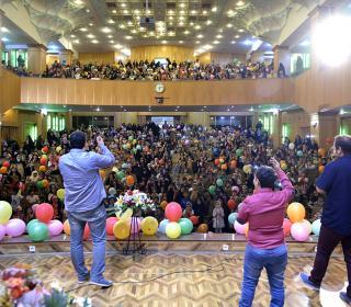 جشن میلاد امام رضا (ع) ویژه خردسالان در تالار شیخ صدوق 12-05-96 عکاس: صادقی