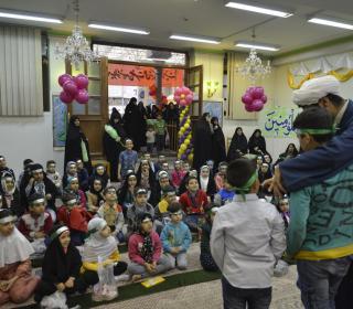 Celebrating of Imam ALI descendent (ALAVI) children in holy shrine