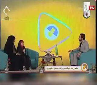 حضور حافظ کل قرآن کریم آستان مقدس حضرت عبدالعظیم (ع) در برنامه زنده شبکه قرآن سیما