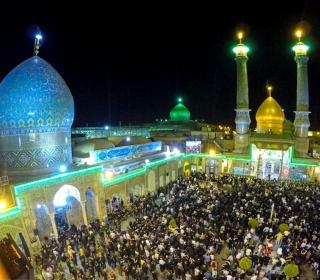اولين شب از شب هاى مسلميه در حرم حضرت عبدالعظيم(ع) / پخش شده از شبکه هاى سيما