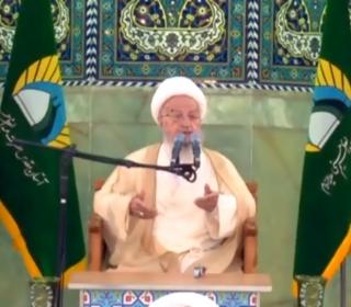 سخنرانی حضرت آیت الله مکارم شیرازی در مراسم افتتاحیه شبستان امام خمینی(ره)