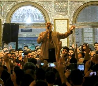 تجمع هیئات مذهبی در شب رحلت حضرت سیدالکریم(ع)/ حاج نریمان پناهی