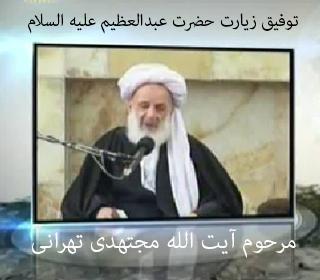 مقید بودن به زیارت حضرت عبدالعظیم (ع) از زبان آیت الله مجتهدی